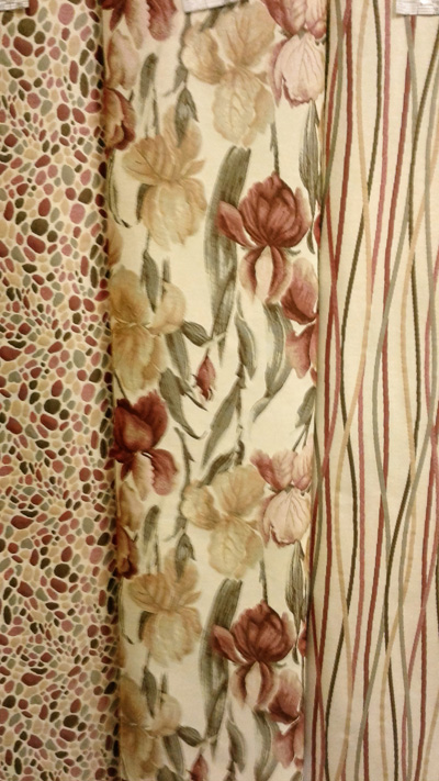 Ткань Бордо -  фото из интерьере