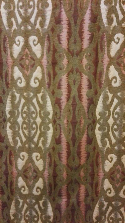 Ткань Зулу -  фото в интерьере